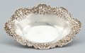 Silver & Vertu:Flatware, AN AMERICAN SILVER CANDY DISH. Samuel Kirk & Son, Baltimore, Maryland, circa 1888. Marks: S. KIRK & SON STERLING 142. 4-... (Total: 1 Item Items)
