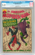 Silver Age (1956-1969):Superhero, The Amazing Spider-Man #6 (Marvel, 1963) CGC VG/FN 5.0 Cream to off-white pages....