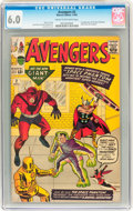 Silver Age (1956-1969):Superhero, The Avengers #2 (Marvel, 1963) CGC FN 6.0 Cream to off-white pages....