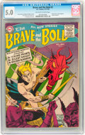 Golden Age (1938-1955):Adventure, The Brave and the Bold #2 (DC, 1955) CGC VG/FN 5.0 Off-white to white pages....