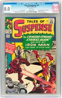Tales of Suspense #52 (Marvel, 1964) CGC VF 8.0 White pages
