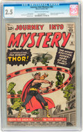 Silver Age (1956-1969):Superhero, Journey Into Mystery #83 (Marvel, 1962) CGC GD+ 2.5 Cream to off-white pages....