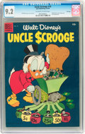 Golden Age (1938-1955):Cartoon Character, Uncle Scrooge #10 File Copy (Dell, 1955) CGC NM- 9.2 Off-white to white pages....
