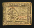 Colonial Notes:Continental Congress Issues, Continental Currency February 17, 1776 $5 Extremely Fine.. ...