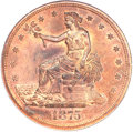 Patterns, 1875 T$1 Trade Dollar, Judd-1430, Pollock-1573, R.7, PR65 Red and Brown PCGS. CAC....