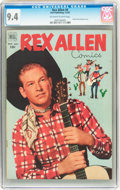 Golden Age (1938-1955):Western, Rex Allen Comics #4 (Dell, 1952) CGC NM 9.4 Off-white to white pages....
