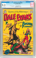 Golden Age (1938-1955):Western, Dale Evans Comics #23 (DC, 1952) CGC NM- 9.2 Off-white to white pages....