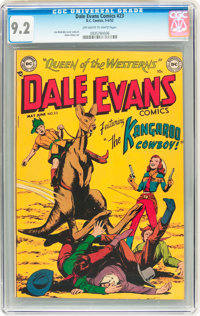 Dale Evans Comics #23 (DC, 1952) CGC NM- 9.2 Off-white to white pages