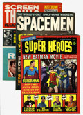 Magazines:Miscellaneous, Superhero/Science Fiction Magazines Group (Warren, 1963-66)....(Total: 7 Items)
