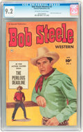 Golden Age (1938-1955):Western, Bob Steele Western #3 (Fawcett, 1951) CGC NM- 9.2 Off-white to white pages....