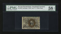 Fractional Currency:Second Issue, Fr. 1249 10¢ Second Issue PMG Choice About Unc 58 EPQ.. ...