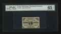 Fractional Currency:Third Issue, Fr. 1226 3¢ Third Issue PMG Gem Uncirculated 65 EPQ.. ...