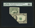 Error Notes:Foldovers, Fr. 2072-G $20 1977 Federal Reserve Note. PMG Choice Uncirculated64 EPQ.. ...