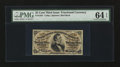 Fractional Currency:Third Issue, Fr. 1291 25¢ Third Issue PMG Choice Uncirculated 64 EPQ.. ...