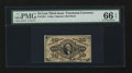 Fractional Currency:Third Issue, Fr. 1251 10¢ Third Issue PMG Gem Uncirculated 66 EPQ.. ...