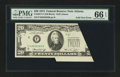 Error Notes:Foldovers, Fr. 2071-F $20 1974 Federal Reserve Note. PMG Gem Uncirculated 66EPQ.. ...