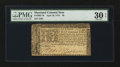 Colonial Notes:Maryland, Maryland April 10, 1774 $8 PMG Very Fine 30 EPQ.. ...