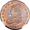 1827 25C Quarter Dollar, Judd-48, Pollock-49, High R.7, PR65+ Red and Brown NGC....(PCGS# 11171)