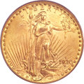 Saint-Gaudens Double Eagles, 1920-S $20 MS64+ PCGS Secure. CAC....