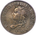 Early Half Dimes, 1792 H10C Half Disme, Judd-7, Pollock-7, R.4, VF25 PCGS Secure....