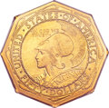 Commemorative Gold, 1915-S $50 Panama-Pacific 50 Dollar Octagonal MS63 PCGS Secure....