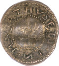 Colonials, 1652 6PENCE Oak Tree Sixpence MS63 PCGS. Noe-22, R.5. ...