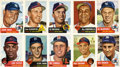 Baseball Cards:Lots, 1953 Topps Baseball Collection (40 Different) With Stars andHoFers. ...