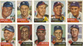 Baseball Cards:Lots, 1953 Topps Baseball Collection With Stars (64 Different)....