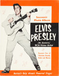 "Music Memorabilia:Memorabilia, Elvis Presley Vintage 1956 ""Mr. Dynamite"" Souvenir Photo Album...."