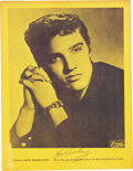 "Music Memorabilia:Autographs and Signed Items, Elvis Presley Signed ""Mr. Rhythm"" Souvenir Picture Album (1956)...."