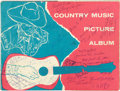 Music Memorabilia:Autographs and Signed Items, Elvis Presley Autographed Country Music Picture Album(Country Style Publications, 1955)....