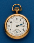 Timepieces:Pocket (post 1900), Howard, 21 Jewel, Series 10. ...