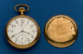 Timepieces:Pocket (post 1900), Waltham, 18 Size, 23 Jewel, Vanguard With Up/Down Indicator. ...