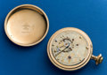 Timepieces:Pocket (post 1900), Type: Hampden, 23 Jewel, 18 Size, Two Tone Special Railway. ...