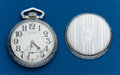 Timepieces:Pocket (post 1900), Type: Illinois, 16 Size, 21 Jewel, Abe Lincoln. ...