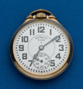 Timepieces:Pocket (post 1900), Type: Elgin, 21 Jewel, B.W. Raymond Grade 571. ...