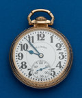 Timepieces:Pocket (post 1900), Type: Illinois, 21 Jewel, Sixty Hour Bunn Special. ...