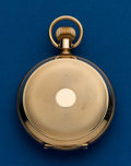 Timepieces:Pocket (post 1900), Hampden, Choice 18 Size, 14k, Hunters Case. ...