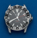 Timepieces:Wristwatch, Omega, Sea Master GMT Steel Wristwatch. ...