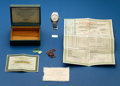 Timepieces:Wristwatch, Rolex, Gents Steel Datejust Wristwatch With Original Papers, ref.1603, circa 1960. ...