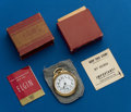 Timepieces:Pocket (post 1900), Elgin, 21 Jewel, B.W. Raymond, 16 Size, 571 With Original Box. ...