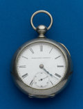 Timepieces:Pocket (pre 1900) , Elgin, 18 Size, Key Wind. ...