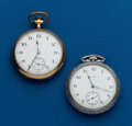 Timepieces:Pocket (post 1900), Two - Elgin, 16 Size Pocket Watches. ... (Total: 2 Items)