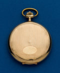 Timepieces:Pocket (post 1900), Swiss, 14k, 50 mm, Hunters Case. ...