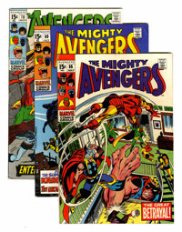The Avengers Group (Marvel, 1969-73) Condition: Average FN.... (Total: 19 Comic Books)