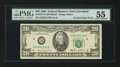 Error Notes:Inverted Reverses, Fr. 2075-D $20 1985 Federal Reserve Note. PMG About Uncirculated55.. ...