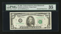 Error Notes:Inverted Reverses, Fr. 1978-E $5 1985 Federal Reserve Note. PMG Choice Very Fine 35.....