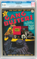 Golden Age (1938-1955):Crime, Gang Busters #8 (DC, 1949) CGC VF/NM 9.0 White pages....