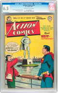 Golden Age (1938-1955):Superhero, Action Comics #161 (DC, 1951) CGC FN+ 6.5 Off-white to white pages....