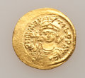 Ancients:Byzantine, Ancients: Maurice Tiberius. 582-602. AV light weight solidus,...